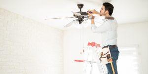 ceiling fan installation
